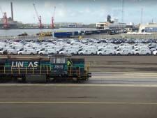 Volvo Cars gaat meer wagens vervoeren via trein vanuit gloednieuwe treinterminal in Gentse haven