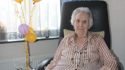 Céline (104) is oudste inwoner