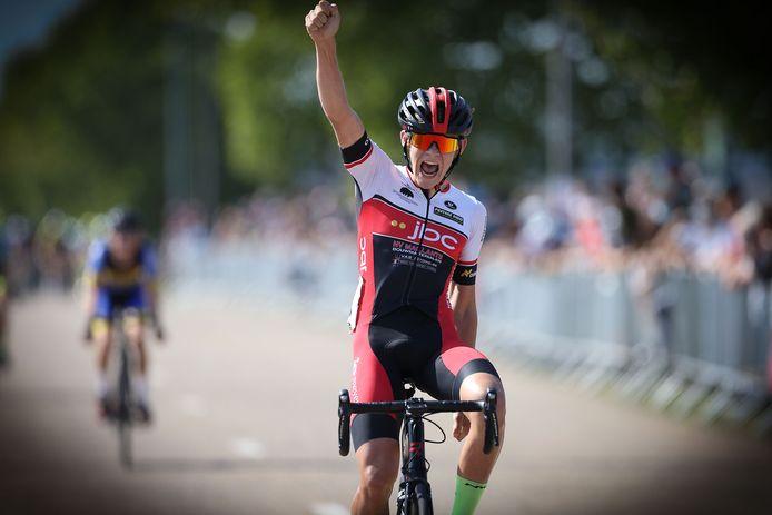 Tijl Swennen was één van de weinige winnaars in 2020 in Limburg.