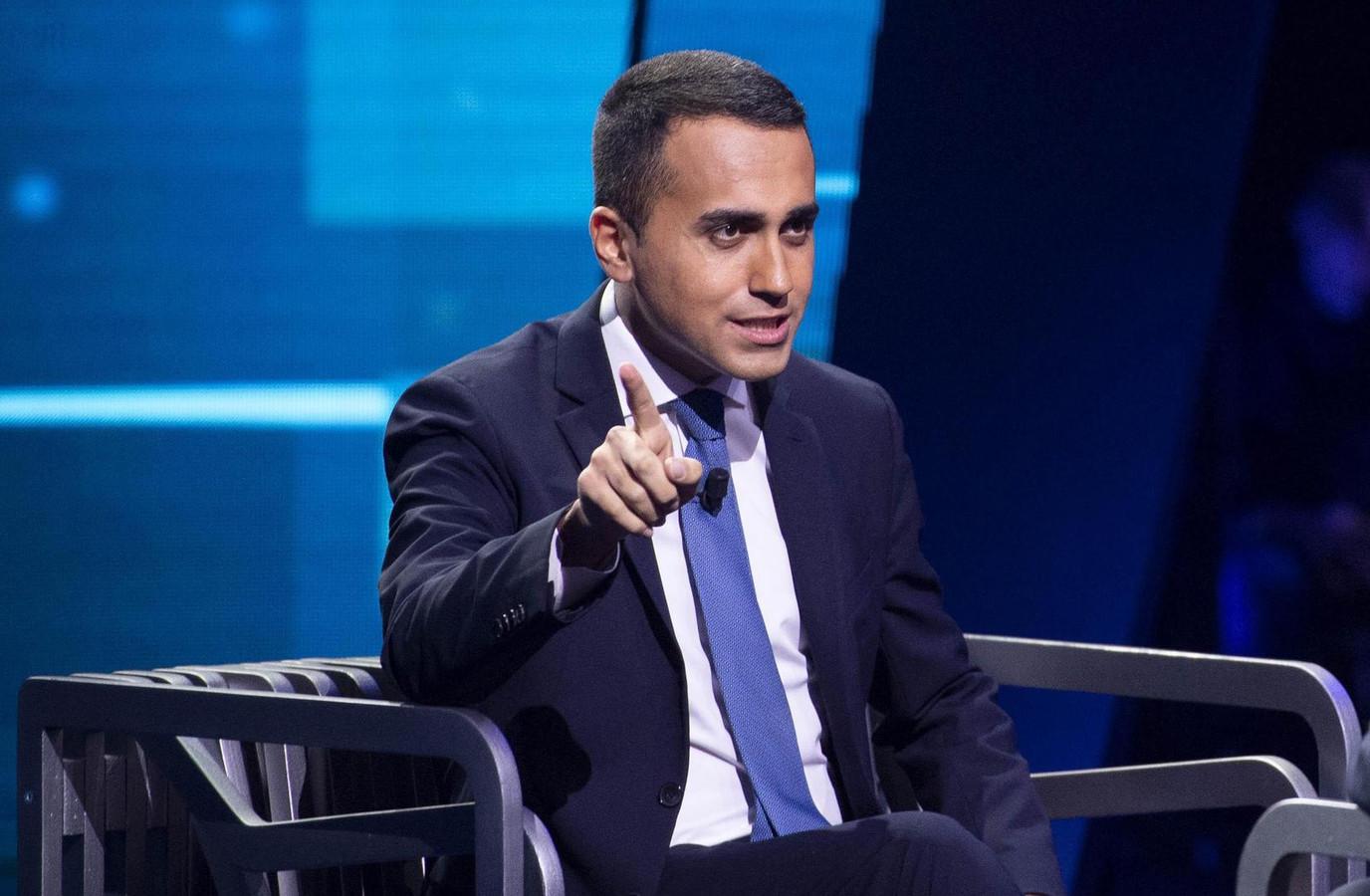 Luigi Di Maio (M5S), vice-Premier ministre italien