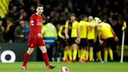 Weg de records, Liverpool verliest na 422 dagen nog eens