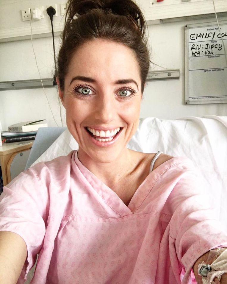Emmy bracht het laatste jaar van haar leven veel tijd door in het ziekenhuis.