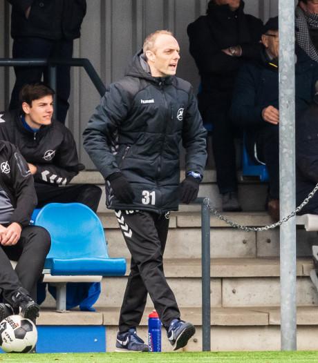 Primeur voor Rutger Wijkman: eerste trainer zaterdagclub De Zweef