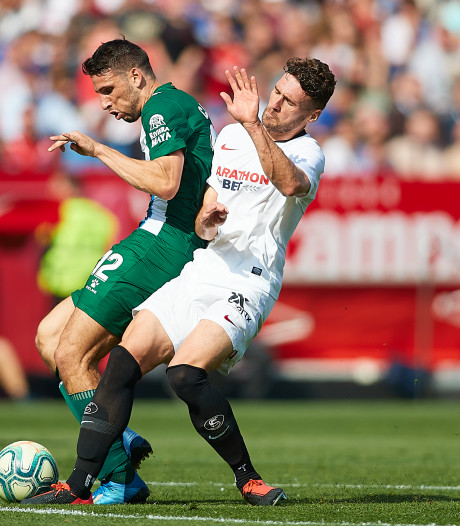 Sevilla en invaller De Jong struikelen tegen laagvlieger Espanyol