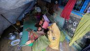 Ruim 7.000 Rohingya die geblokkeerd waren, overgebracht naar kampen