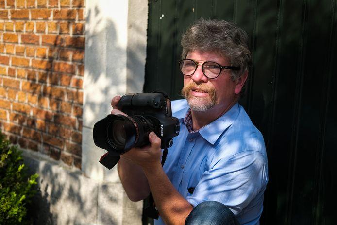 De Boomse fotograaf Jo De Groote is bezig met een nieuw project.