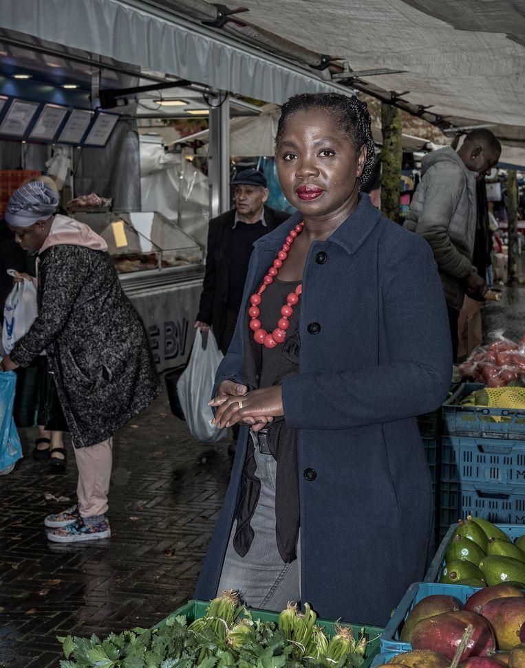 Amma Asante, oud-gemeenteraadslid en kamerlid van de PvdA. Beeld Patrick Post