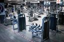 Fitnesscentra zijn in nagenoeg alle ons omringende landen gesloten.