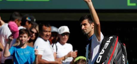 Djokovic ook in Miami meteen uitgeschakeld