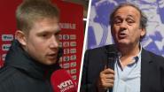 """Platini dient De Bruyne van antwoord: """"Dat hij gaat klagen bij de politici van zijn land"""""""