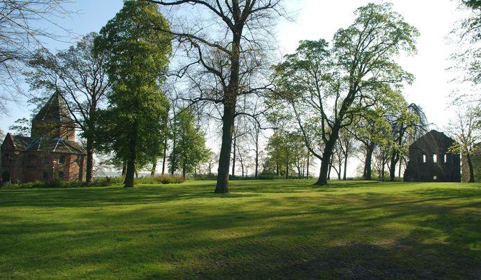 Het Valkhofpark.