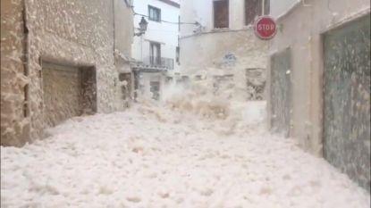 Bruggen vernield en wegen versperd: storm Gloria veroorzaakt grote schade in Spanje