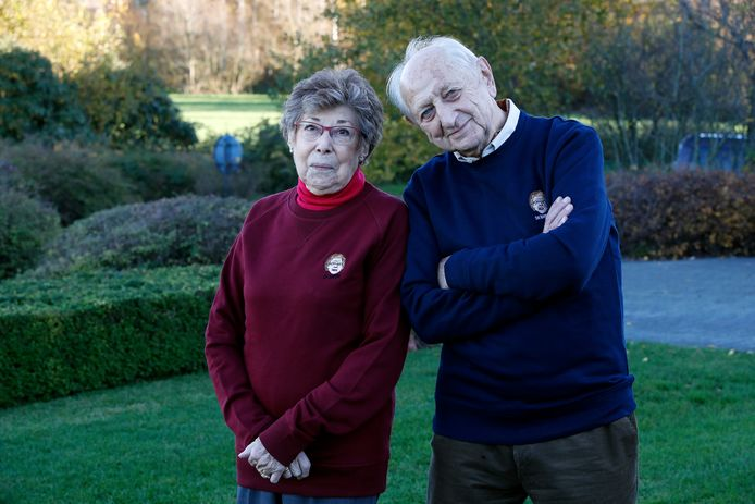 Annie Geeraerts en Ray Verhaeghe