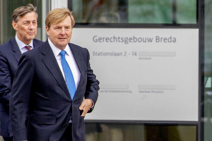 Koning Willem-Alexander opende in 2018 het nieuwe gerechtsgebouw in Breda. Volgens het Republikeins Genootschap heeft het Nederlandse staatshoofd veel te veel macht in de rechtsgang.