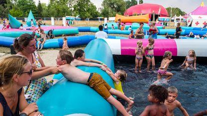 Sfinks Mixed zet zwembadjes klaar voor jong én oud