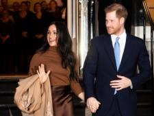 Britse prins Harry en vrouw Meghan doen stap terug