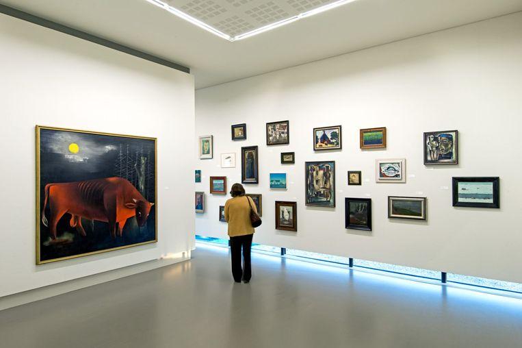 Museum Belvédère, het museum voor moderne en hedendaagse kunst op landgoed Oranjewoud.  Beeld Museum Belvédère