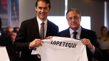 """Voorzitter Real Madrid springt bij voorstelling Lopetegui in de bres: """"Zijn ontslag bij Spanje was niet correct"""""""