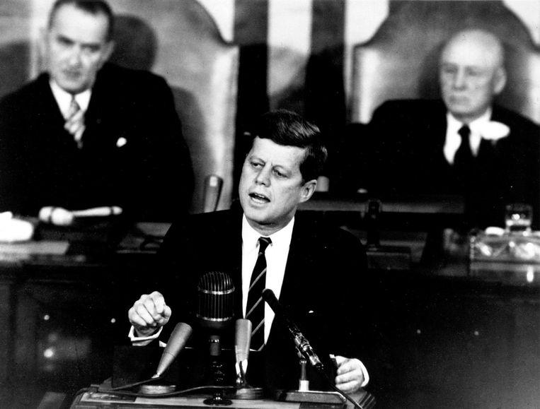 John F. Kennedy in 1961.