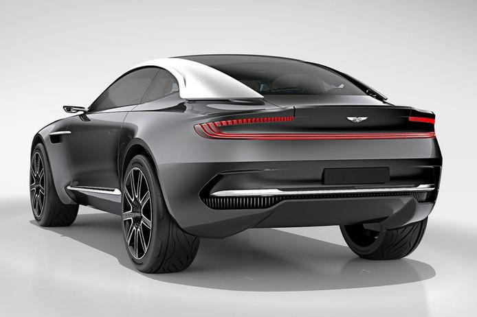 Aston Martin DBX designstudie