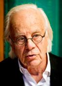 Acteur Bram van der Vlugt (85) speelt een rol in de film Wachterjachter van het Rundfunk-duo.