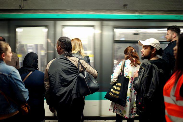 De metro van Parijs is na Londen de drukste metro van Europa.