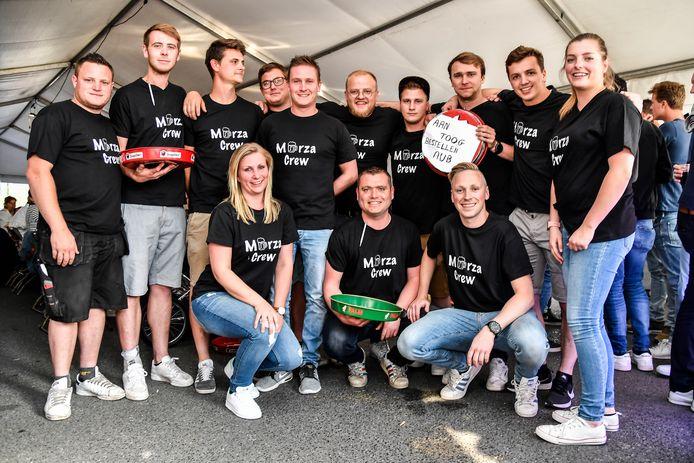 De Morza Crew kwam met het initiatief om dit groot feest te organiseren.