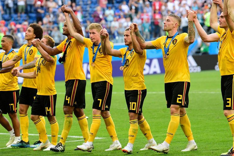 Het positief resultaat is grotendeels te danken aan de historische bronzen medaille van de Rode Duivels op het WK in Rusland.