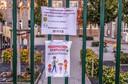 Het is extra rustig deze week in De Vliegeraar Wielsbeke, meer dan de helft van de leerlingen zijn er afwezig.