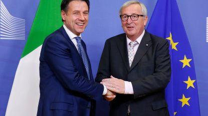Italiaanse premier Conte hoopt dat Europese sancties om afgekeurde begroting vermeden kunnen worden