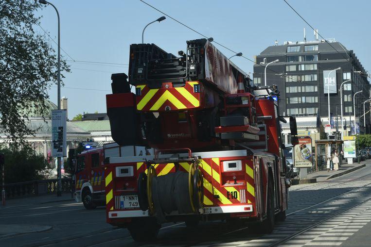 Illustratie brandweer Brussel