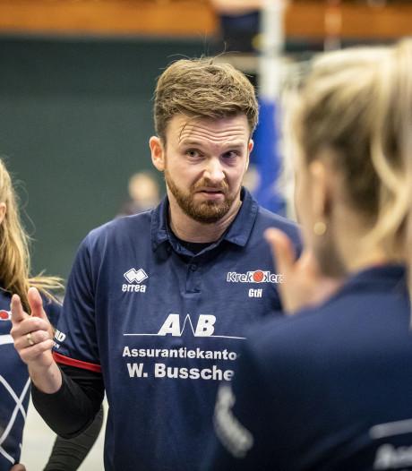 Volleybaltrainer Ter Harmsel hoopt na drie jaar bij Krekkers op een nieuwe uitdaging
