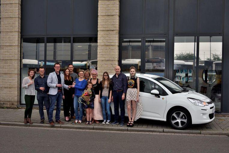 Nancy Wint Nieuwe Wagen Met Shop The City Actie Sint Truiden
