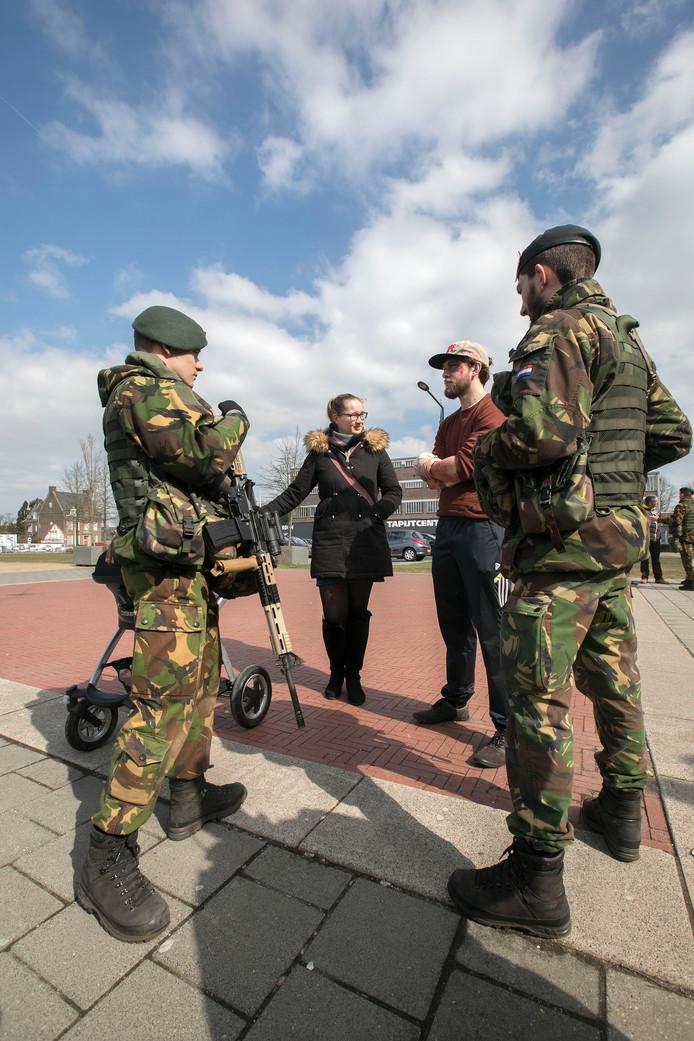 Reservisten oefenen 23 en 24 maart in de omgeving van Oirschot en Best.