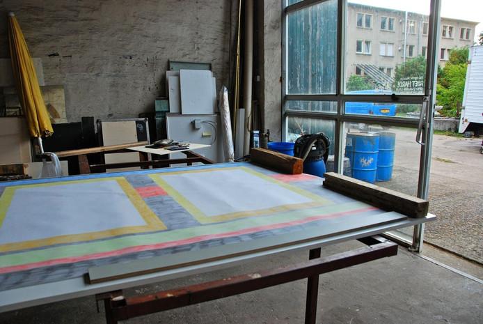 Atelier van Griet Menschaert in Tripkau