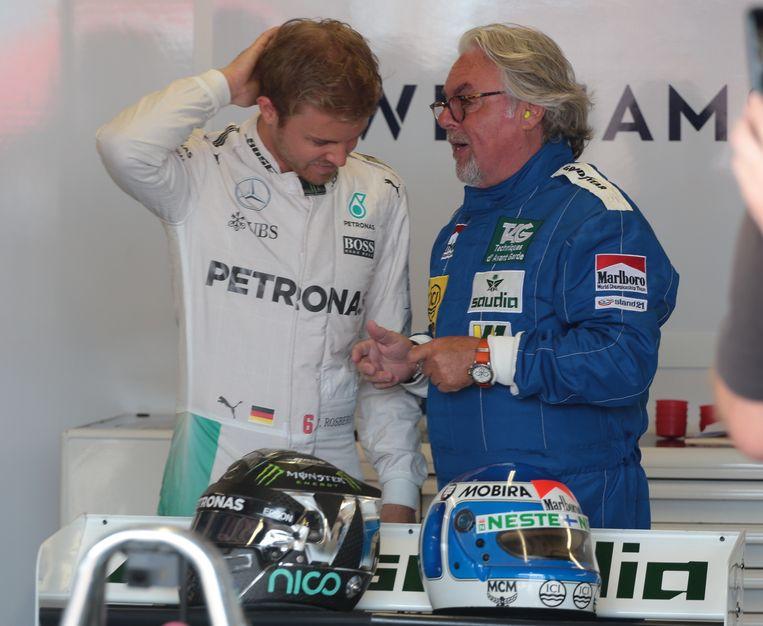 Nico en Keke Rosberg.