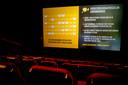 Een bioscoopzaal van Pathé in coronatijd.