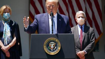 Trump zou nu toch deel van Amerikaanse bijdrage aan WHO willen betalen
