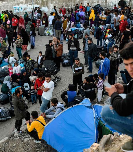 Recordaantal migranten op Griekse eilanden