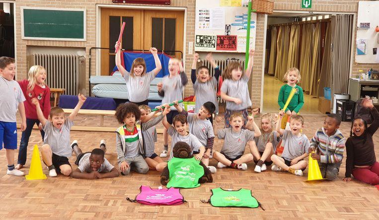 De Sportsnack geeft 10 weken lang elke donderdag de kinderen een uurtje extra beweging.