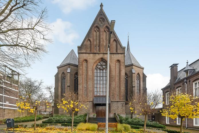 De voormalige Sint Jan de Doperkerk aan de Verlengde Hoflaan in Arnhem.