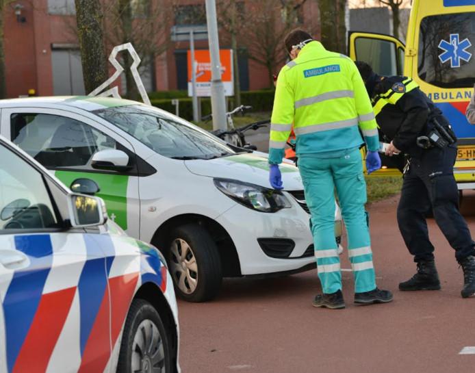 Aanrijding op de IABC in Breda.