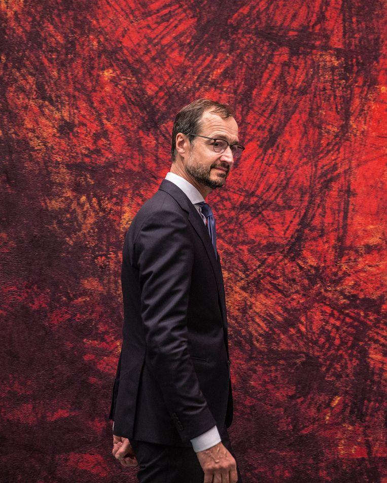 Minister Eric Wiebes Beeld Hollandse Hoogte / Arie Kievit