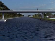 Fietsbrug over Aarkanaal in Alphen eind 2021 klaar