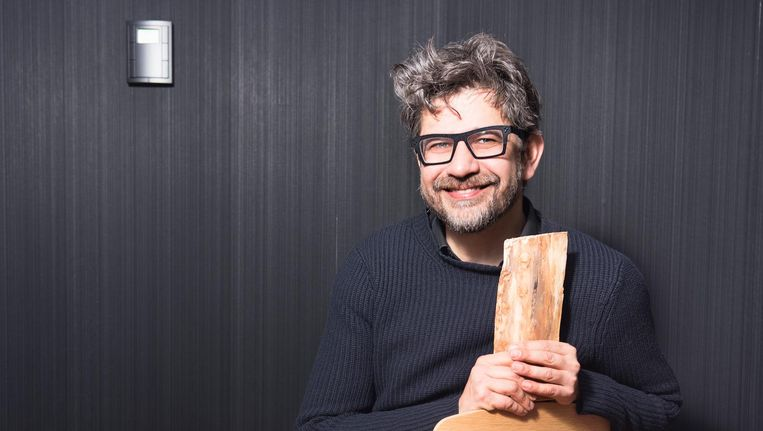 Cabaretier Wim Helsen. Beeld Els Zweerink