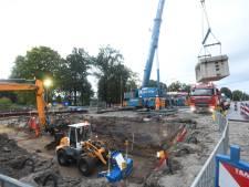Groot materieel ingezet voor aanleg nieuwe faunapassage in De Bilt