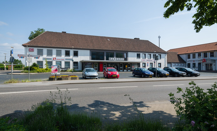 Het treinstation van Emmerik.