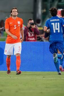 Oranje in crisis en tegen Italië begon de ellende