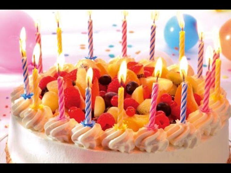 Tijd voor een verjaardagstaart.