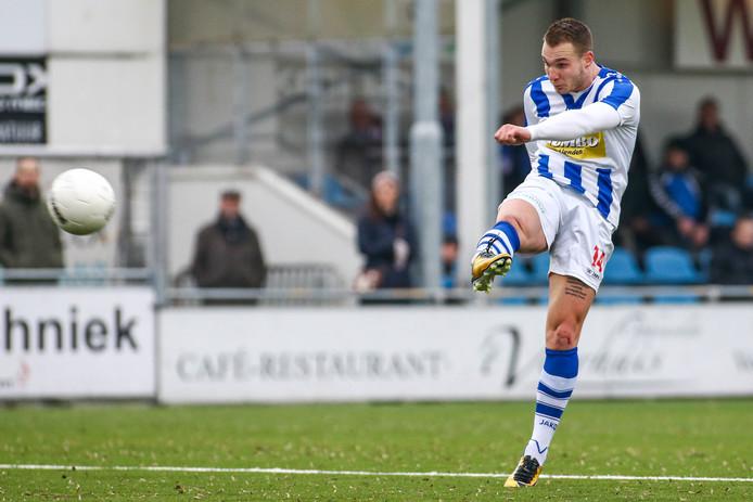 Nick Hak voetbalt ook volgend seizoen voor FC Lienden.
